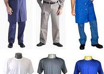 Lavagens de uniformes industriais