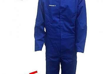 Vestimenta antichama para eletricista